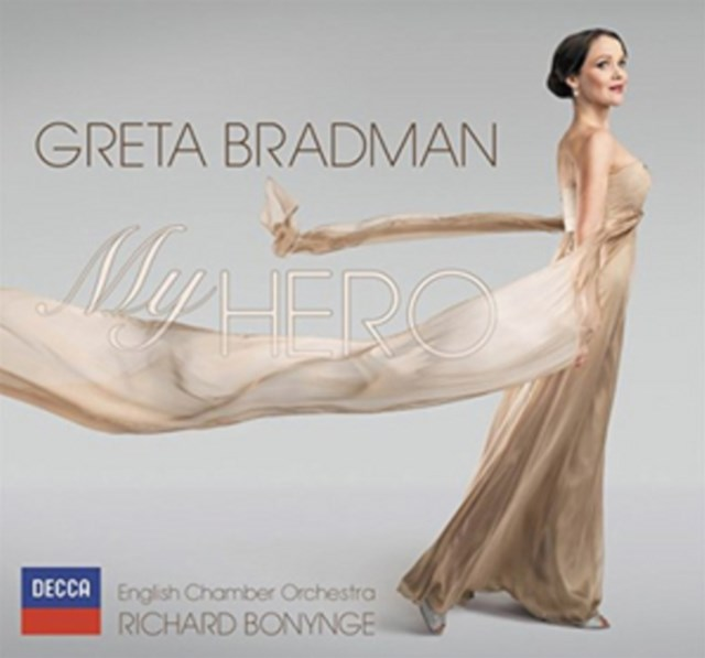 Greta Bradman: My Hero - CD / Album