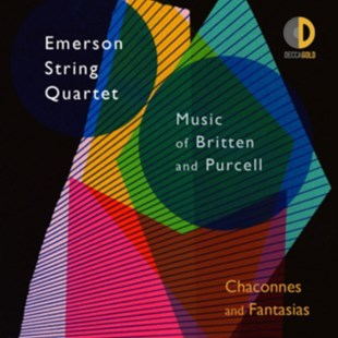 Emerson String Quartet: Music of Britten and Purcell - CD / Album - Music Classical Music