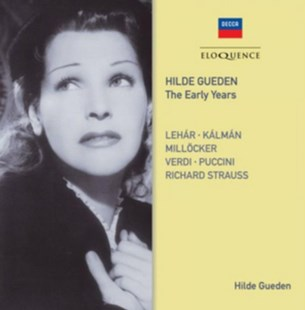Hilde Gueden: The Early Years - CD / Album - Music Classical Music