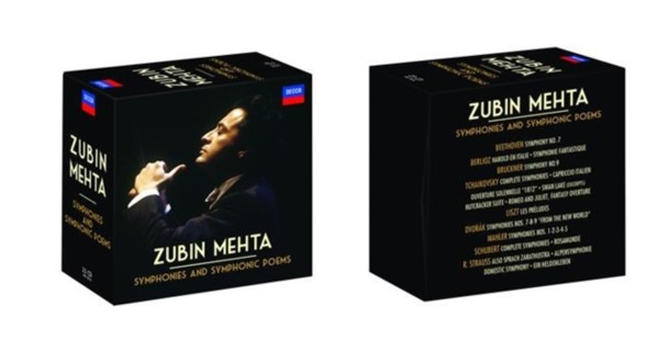 Zubin Mehta: Symphonies and Symphonic Poems - CD / Box Set - Music Classical Music