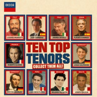 Ten Top Tenors - CD / Album - Music Classical Music