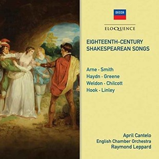 Eighteenth Century Shakespearean Songs - CD / Album - Music Classical Music