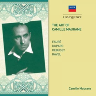 The Art of Camille Maurane - CD / Album - Music Classical Music