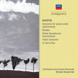 Martin: Concerto for Seven Wind Instruments/Etudes/... - CD / Album - Music Classical Music