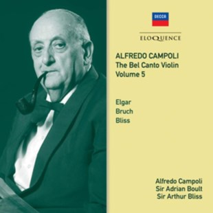 Alfredo Campoli: The Bel Canto Violin - CD / Album - Music Classical Music