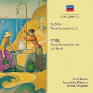 Chopin: Piano Concerto No. 2/Ravel: Piano Concerto for the Left.. - CD / Album - Music Classical Music