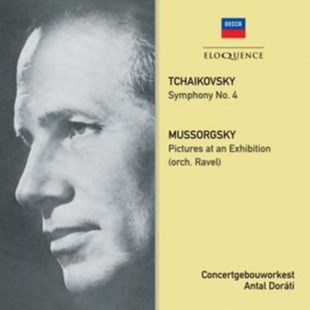 Tchaikovsky: Symphony No. 4/Mussorgsky: Pictures at an Exhibition - CD / Album - Music Classical Music