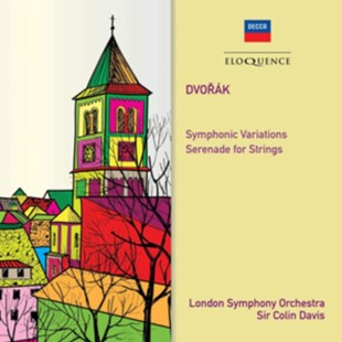 Dvorák: Symphonic Variations/Serenade for Strings - CD / Album - Music Classical Music