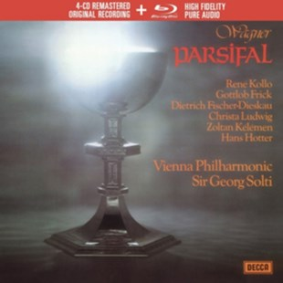 Wagner: Parsifal - CD / Box Set with Blu-ray - Music Classical Music
