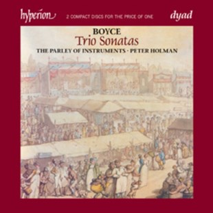 William Boyce: Trio Sonatas - CD / Album - Music Classical Music