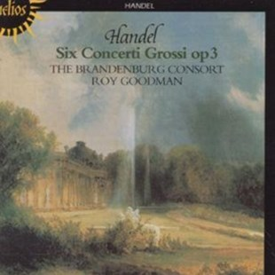 Handel: Concerti Grossi Op.3 (The Brandenburg Consort / Roy Goodm - CD / Album - Music Classical Music