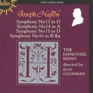 Symphonies Nos. 13 - 16 (Goodman, Hanover Band) - CD / Album - Music Classical Music