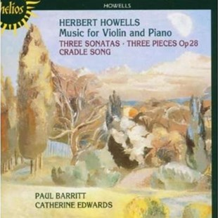 Music for Violin and Piano (Barritt, Edwards) - CD / Album - Music Classical Music