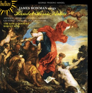 James Bowman Sings Handel Heroic Arias - CD / Album - Music Classical Music