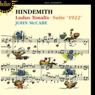 Hindemith: Ludus Tonalis/Suite '1922' - CD / Album - Music Classical Music