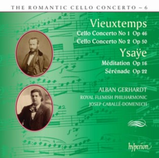 Vieuxtemps: Cello Concerto No. 1, Op. 46/... - CD / Album - Music Classical Music