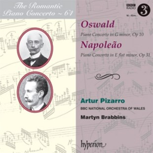 Oswald: Piano Concerto in G Minor, Op. 10/... - CD / Album - Music Classical Music