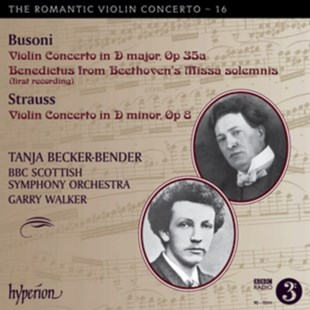 Busoni: Violin Concerto in D Major, Op. 35a/... - CD / Album - Music Classical Music