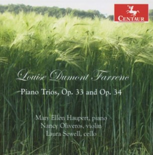 Louise Dumont Farrenc: Piano Trios, Op. 33 and Op. 34 - CD / Album - Music Classical Music