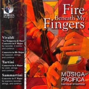 Fire Beneath My Fingers - CD / Album - Music Classical Music