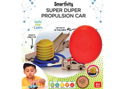 Smartivity - Super Duper Propulsion Car - Children's Toys & Games Science & Experiments