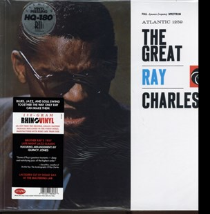 "The Great Ray Charles - Vinyl / 12"" Album by  (0081227980627) - Vinyl - Music Blues"