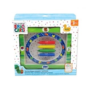 Very Hungy Caterpillar Bath Crayons & Frame Set Of 5