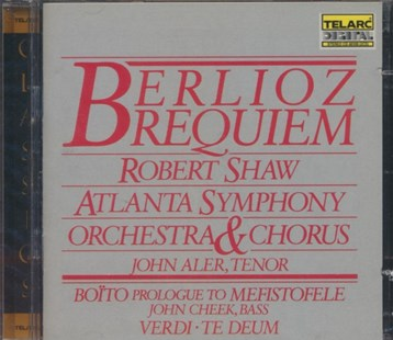 Requiem/prologue to Mefistofele/te Deum (Shaw, Atlanta So) - CD / Album - Music Classical Music