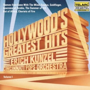 Hollywood's Greatest Hits (Kunzel, Cincinnati Pops Orch.) - CD / Album - Music Classical Music