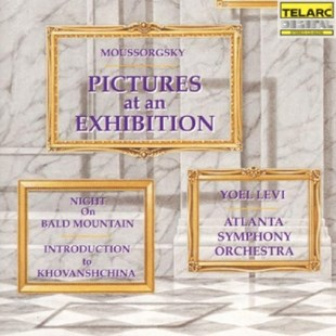 Pictures at an Exhibiton, Night On Bare Mountain (Levi) - CD / Album - Music Classical Music