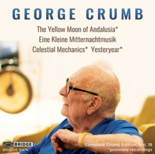 George Crumb: The Yellow Moon of Andalusia/... - CD / Album - Music Classical Music