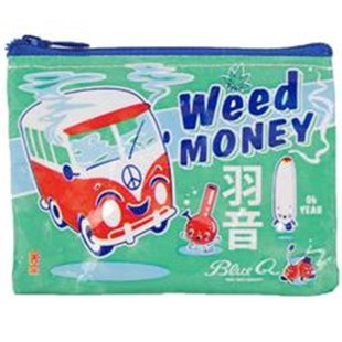 Weed Money Coin Purse - Bags & Carry Wallets