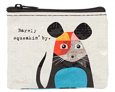 Barely Squeaking Coin Purse - Bags & Carry Wallets