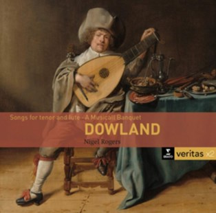 Dowland: Songs for Tenor and Lute - A Musical Banquet - CD / Album - Music Classical Music