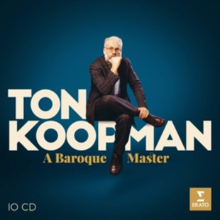 Ton Koopman: A Baroque Master - CD / Box Set - Music Classical Music