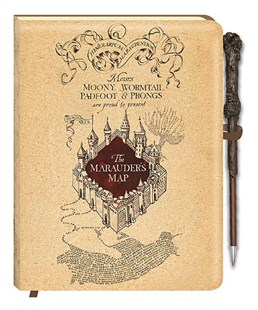 Harry Potter Lenticular Journal & Wand Pen - Creativity Stationery Set