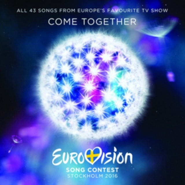 Eurovision Song Contest Stockholm 2016 CD