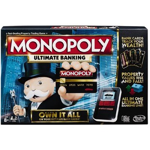 Monopoly Ultimate Banking - Board Games Dice Games