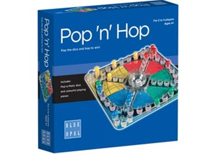 Blue Opal - Pop 'n' Hop Game by  (0633793018367) - Game - Board Games Party & Family