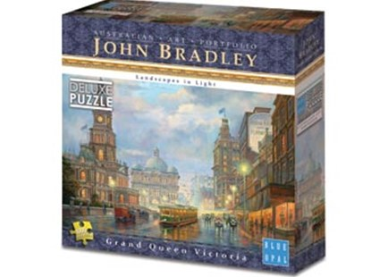 Blue Opal - Bradley Grand Queen Victoria 1000pc by  (0633793019272) - Jigsaw - Jigsaws