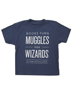 Kids' Books Turn Muggles into Wizards T-Shirt - 14 year old by  (0656554045754) - T-shirt - Clothing