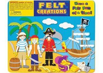 Felt Creations - Pirate Ship