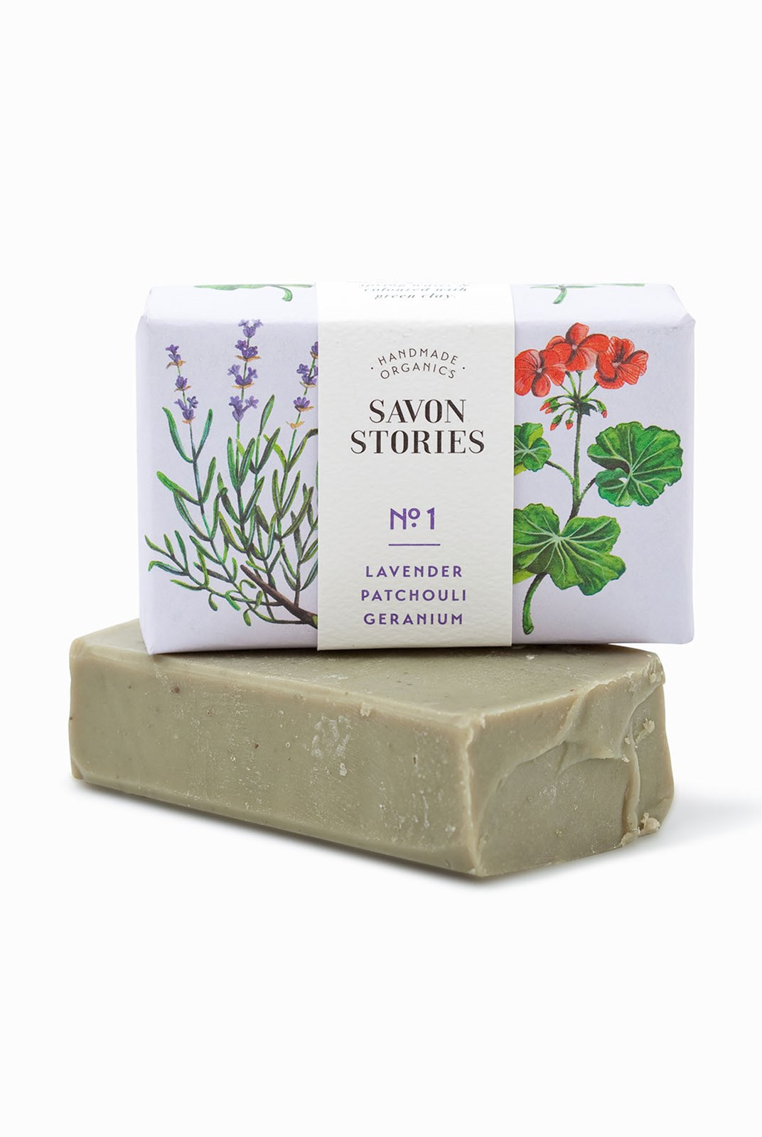 Savon Stories - Organic Soap - 105g - Green Clay