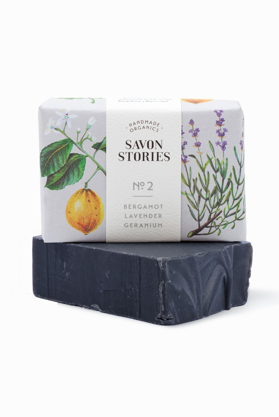 Savon Stories - Organic Soap - 105g - Charcoal
