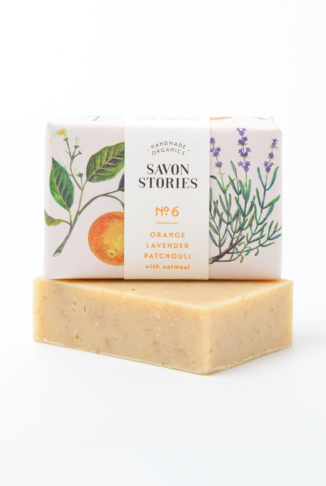 Savon Stories - Organic Soap - 105g - Oatmeal