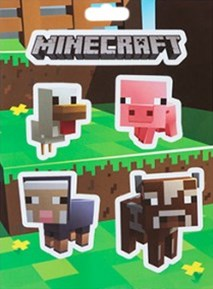 Minecraft - Baby Animals Stickers Set