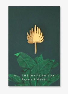 ATWTS Enamel Pins Palm Tree leave - Lifestyle