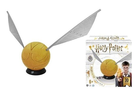 Harry Potter 3d Golden Snitch Puzzle - Jigsaws