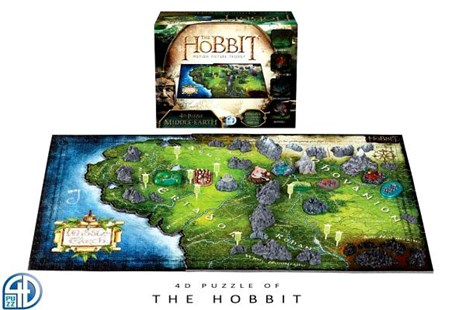 4d Hobbit - Jigsaws