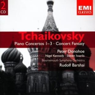 Piano Concertos Nos. 1 - 3 (Barshai, Bournemouth So) - CD / Album - Music Classical Music